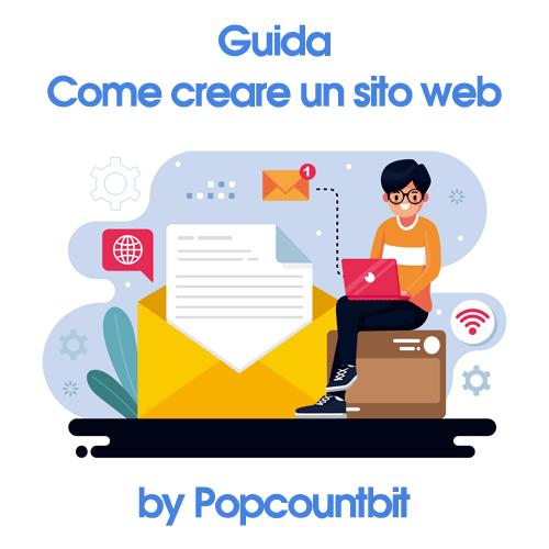 Come creare un sito web Popcountbit
